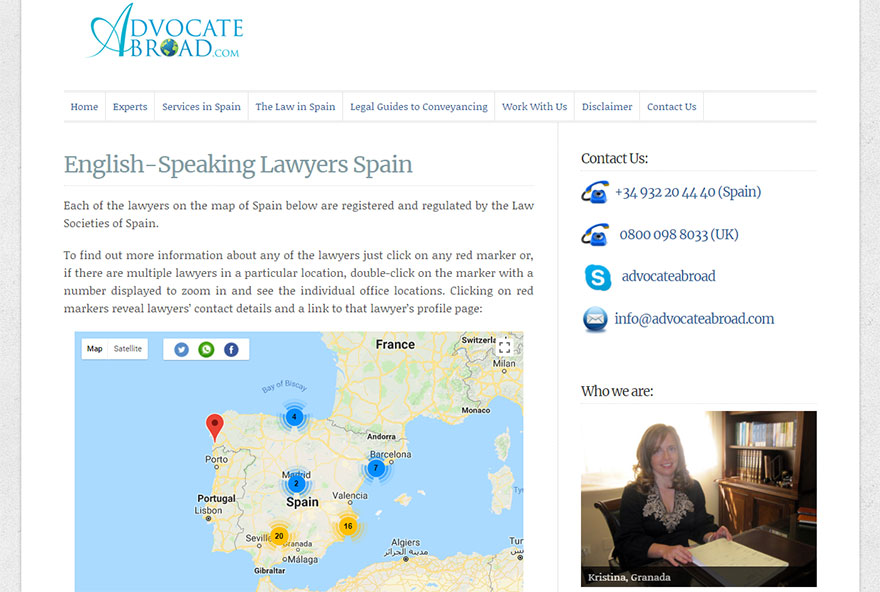 Advocate-Abroad-Web-Design