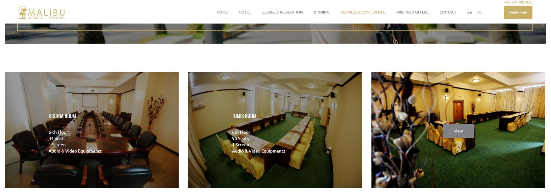 Hotel-Malibu-Web-Development