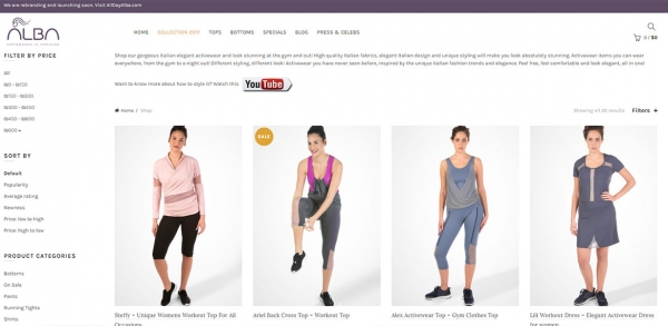 Online Store Web Development